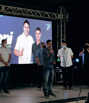 O anunciou ocorreu durante convenção do partido que homologou os nomes dos candidatos da legenda