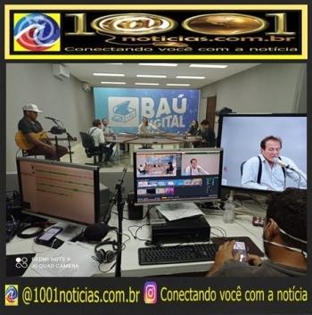 Com a participação de Abelardo Jurema, programa Baú Digital estreia na 105 FM e plataformas digitais - Veja Vídeo