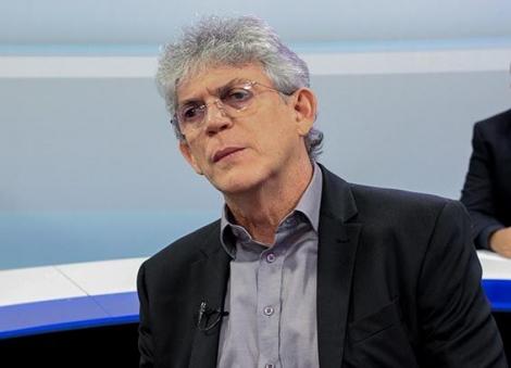 O ex-governador Ricardo Coutinho (PSB) teve seu escritório invadido, no bairro dos Estados, em João Pessoa.