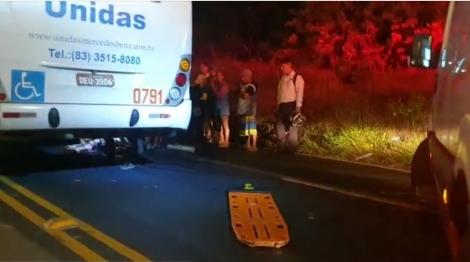O acidente aconteceu nas proximidades da lombada eletrônica instalada no local.