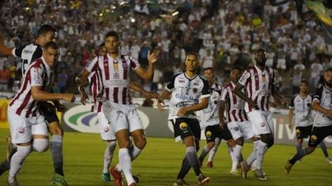 O Belo sofreu o gol da derrota por 1 a 0 em um vacilo da defesa. O resultado é péssimo para as ambições do clube da estrela vermelha por uma vaga na próxima fase.