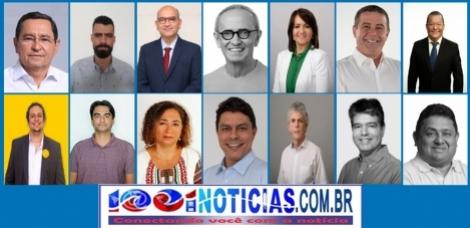 Os candidatos a prefeito de João Pessoa