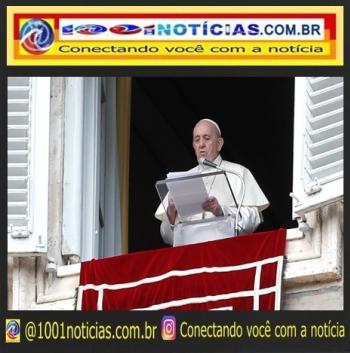 Papa Francisco fala no Vaticano – (Foto: Vatican News)