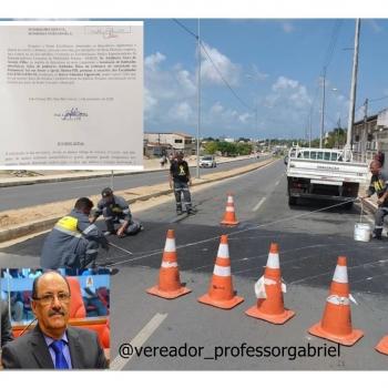 O requerimento do vereador Professor Gabriel é do dia 14 de novembro de 2018 quando foi aprovado pelos seus pares na Câmara Municipal de João Pessoa