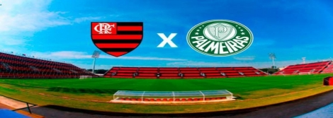 Flamengo enfrenta o Palmeiras na Ilha do Urubu pela 15ª rodada do Campeonato Brasileiro com transmissão da 1001 Notícias FM/CBN