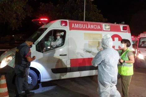 Pacientes foram transferidos do estado do Amazonas para a Paraíba por causa da crise que gerou falta de oxigênio na região. Outros internados foram transferidos para outros estados e o Distrito Federal. (Foto: Oriel Farias/Arquivo)