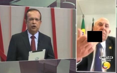 Em vídeo compartilhado na internet, o senador Ney Suassuna aparece fazendo um gesto obsceno ao comentar sobre o senador José Maranhão, que está internado em hospital de São Paulo, tratando de complicações causadas pela covid-19