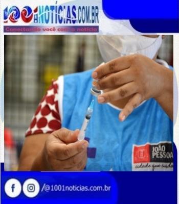 A campanha de vacinação contra a Covid-19 volta a ser suspensa em João Pessoa, nesta quarta-feira (21), após o esgotamento das doses de imunizantes