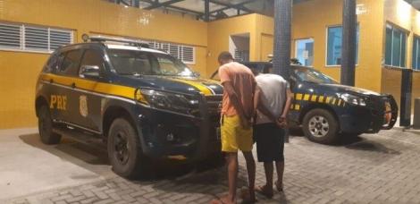 Suspeitos foram presos em Campina Grande (Foto: Divulgação)