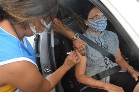 Idosos a partir de 85 anos serão vacinados a partir desta segunda-feira (Foto: Secom-JP)