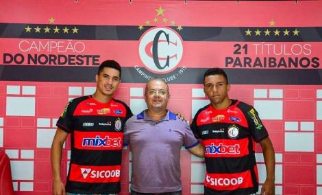 A diretoria do Campinense Clube oficializou mais duas contratações para o prosseguimento do Campeonato Brasileiro Série D.