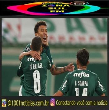 Marcos Rocha comemorando gol pelo Palmeiras Cesar Greco/SE Palmeiras