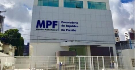 Sede do Ministério Público Federal da Paraíba - Foto: Divulgação