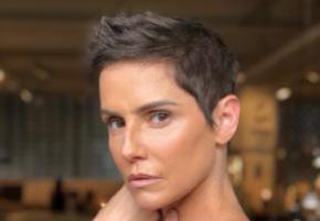 Deborah Secco aparece de cabelo curtinho após cena de surto de Karola em 'Segundo Sol'