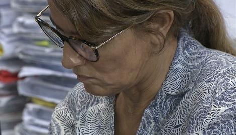 A ex-secretária Livânia Farias, que se encontra presa no destacamento policial em Cabedelo, desde 16 de março, teve que se submeter a uma bateria de exames médicos