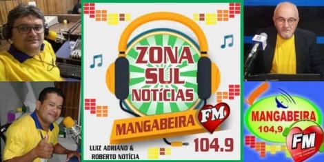 A METRALHADORA DA NOTÍCIA VAI GIRAR - Programa Zona Sul Notícias estreia dia 4 de fevereiro na Mangabeira FM das 12:00 às 14:00 horas