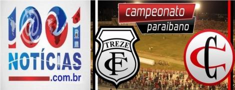 Treze segura o Campinense e volta à final do Campeonato Paraibano após quatro anos