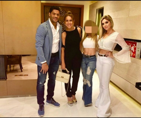 A assessoria do jogador de futebol campinense Hulk confirmou, nesta segunda-feira (23) que o atleta está namorando Camila, sobrinha da sua ex-esposa, Iran Ângelo de Souza