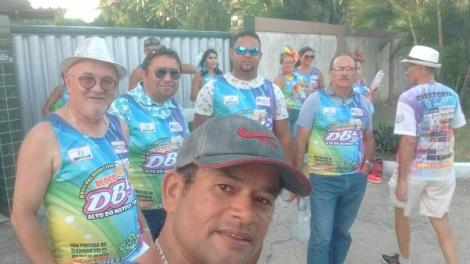 O vereador Professor Gabriel participa ativamente do Carnaval de João Pessoa fazendo um verdadeiro périplo pelos bairros da capital paraibana