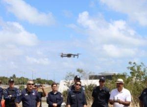 A Guarda Municipal da Secretaria de Segurança Urbana e Cidadania (Semusb) está utilizando drone para fiscalizar as praias e demais pontos turísticos da cidade para evitar aglomerações de pessoas