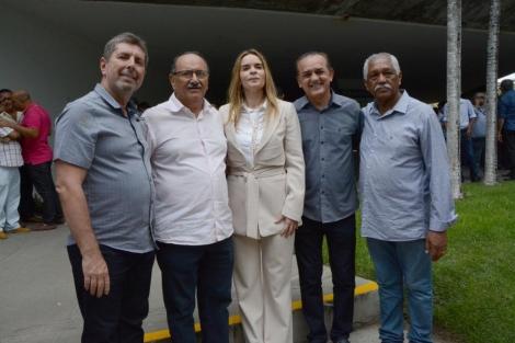 O vereador Professor Gabriel esteve hoje em Campina Grande em companhia dos vereadores de João Pessoa a convite do presidente da Famup