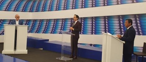 Cícero Lucena (Progressistas) e Nilvan Ferreira (MDB) debatem, frente a frente, as propostas para governar a cidade a partir de 2021. A mediação é do multimídia Alex Filho