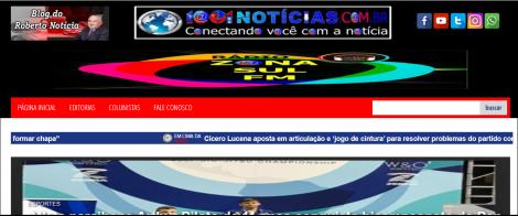 ENQUETE - Internautas vão opinar sobre o que acharam do novo layout do Portal 1001 Notícias