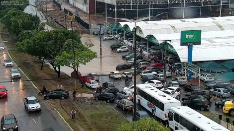 ATUALIZAÇÃO   -   João Pessoa já teve 143 mm de chuva em apenas oito horas