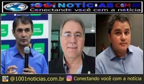 ELEIÇÕES 2022  -  Com veto de apoiadores de Bolsonaro a chapa de João Azevêdo, Efraim Filho pode vir compor com Romero Rodrigues para senador e Queiroga vice