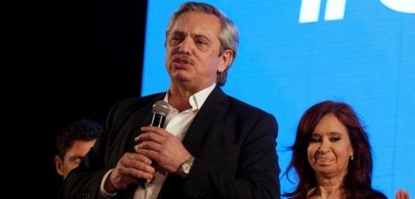 Alberto Fernández derrotou o candidato a reeleição, Mauricio Macri.