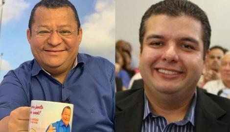 Diego Tavares, e o apresentador Nilvan Ferreira, reforçam dia após dia as suas presenças nas redes sociais e no corpo a corpo com a população pessoense.