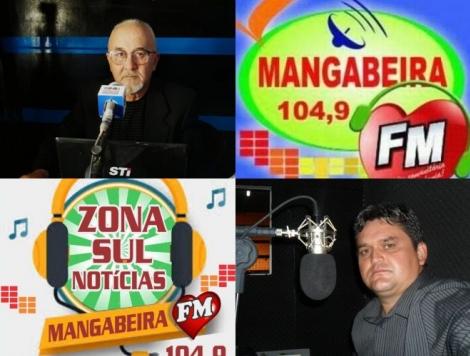 Programa Zona Sul Notícias das 12:00 às 14 horas com os radialistas Luiz Adriano e Roberto Notícia