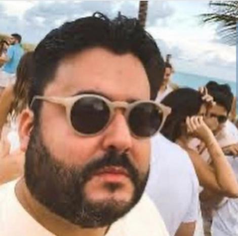 Filho de proprietário da TV Cabo Branco morre com suspeita de coronavírus, em João Pessoa