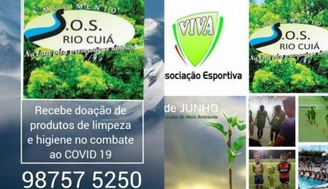 A Associação SOS Rio Cuiá segue firme no propósito de ajudar as famílias carentes paraibanas e em especial de João Pessoa para isso lança mais uma campanha desta vez de combate e prevenção ao novo coronavírus, causador da Covid-19, utilizando a web rádio