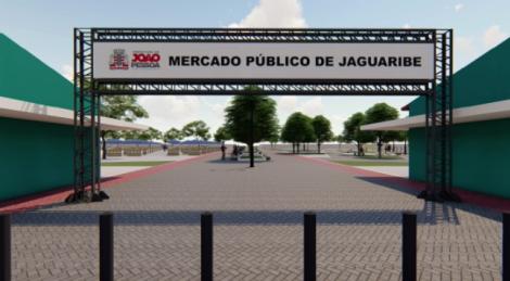 O prefeito de João Pessoa, Luciano Cartaxo, entrega, às 8h desta segunda-feira (2), o 'Novo Mercado de Jaguaribe'