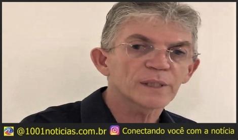 Ricardo Coutinho argumentou, em sua defesa, que o patrimônio sequestrado foi adquirido de forma lícita e que o bloqueio estaria lhe causando prejuízos. (Foto: Walla Santos/Arquivo)