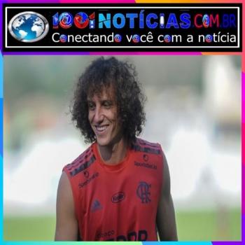 David Luiz durante treino no Flamengo Marcelo Cortes / Flamengo