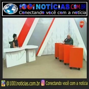 O multimídia Roberto Notícia esteve hoje, dia 21/07/2021 no Programa Radar Master comandado por Tatiana fazendo análise da política local e nacional